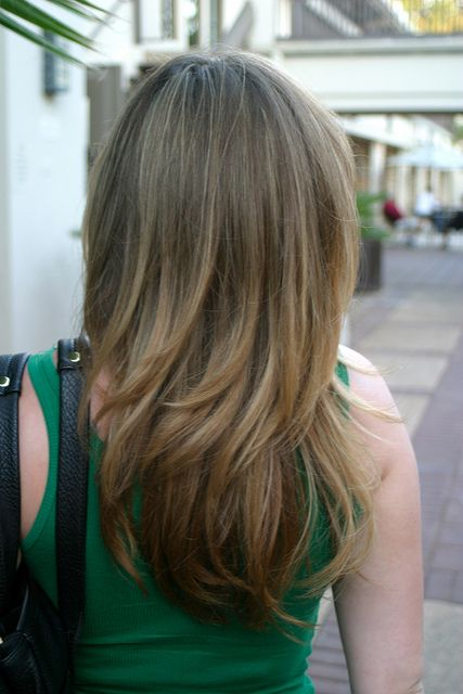 Long Layer Haircut with Subtle Highlights