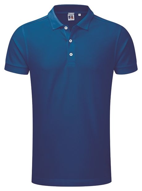 Perfekt polo for #corporatewear Russel Stretch polo Royal