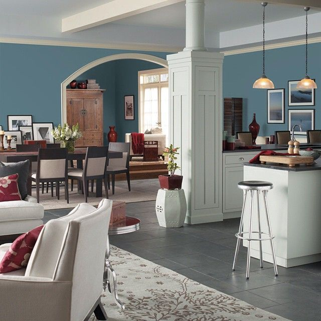 Paint Colors For Kitchen: St. Bart's (SW 7614) Brings The Ocean Breeze Into The