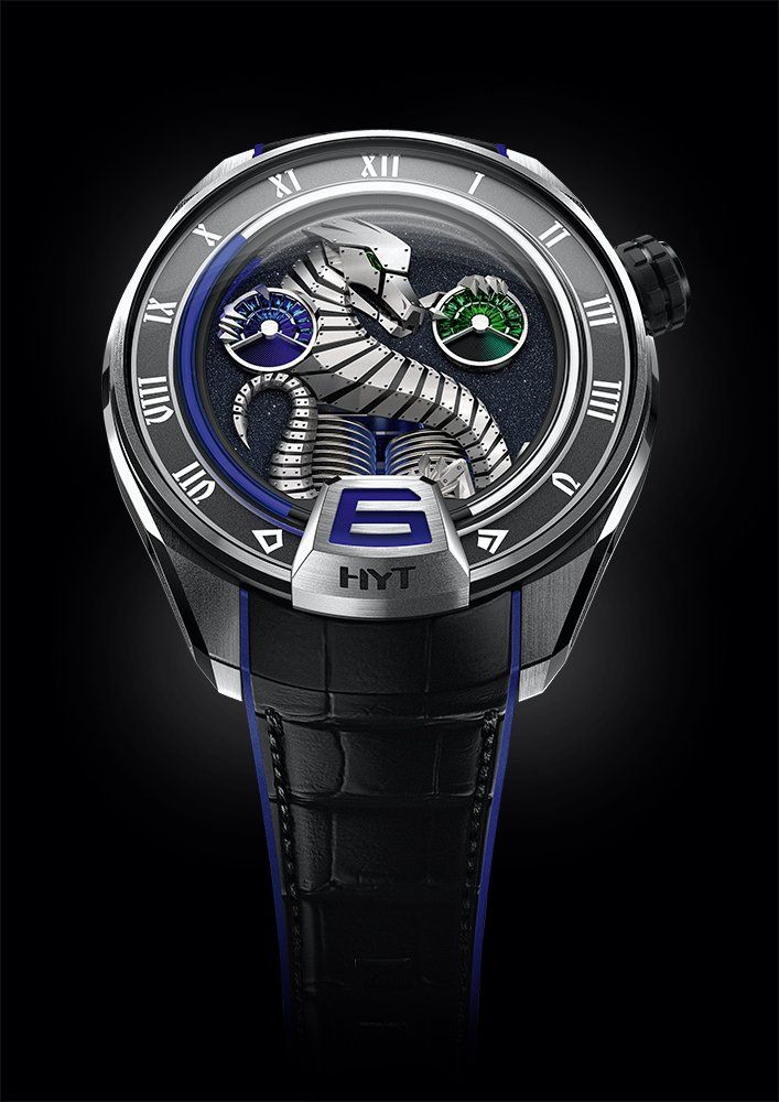 f006064bd85 HYT Watches The H4 Dragon - a unique piece straights from HYT s imagination  Relógios Masculinos