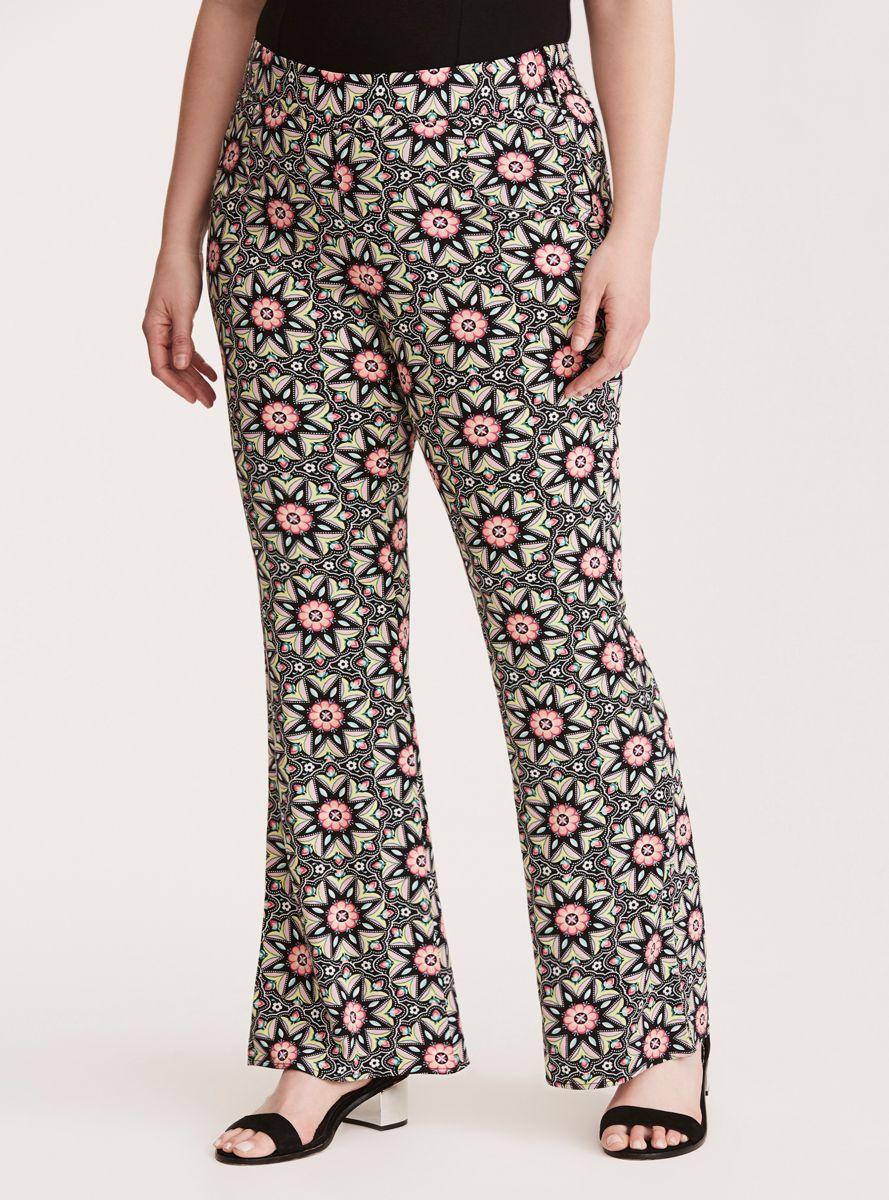 a6c4437904 Insider Floral Border Challis Pants