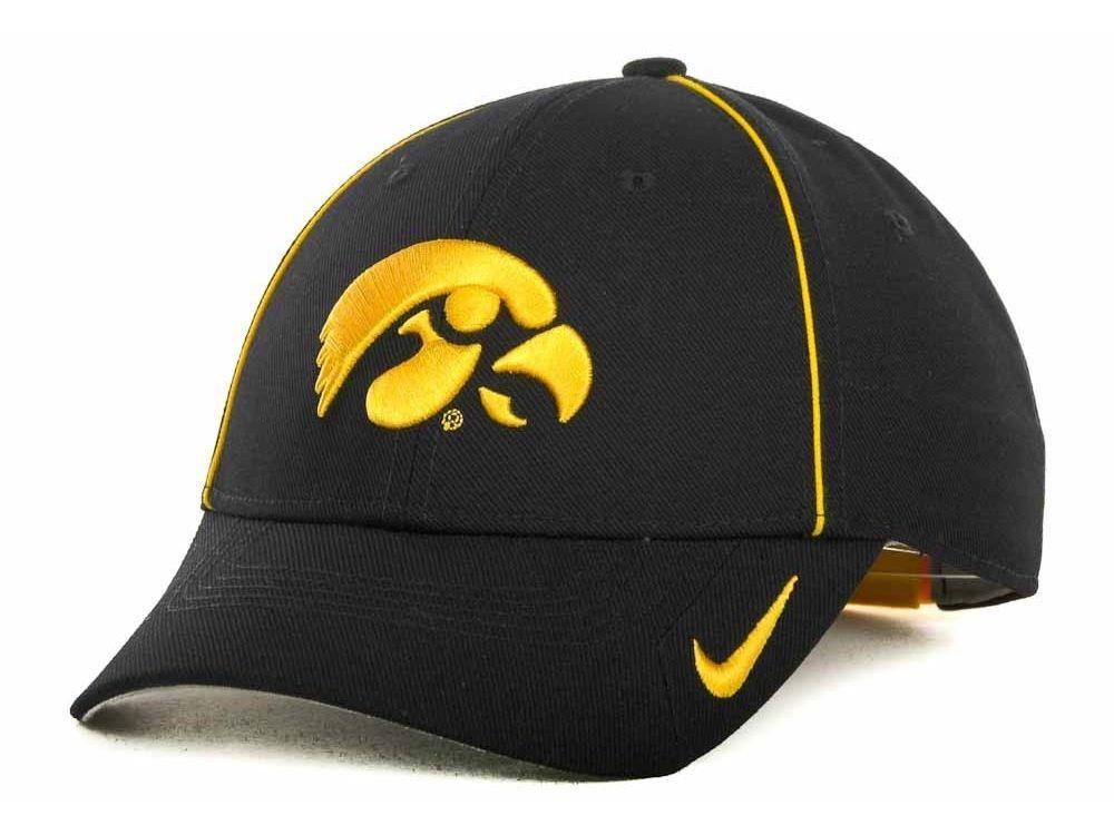 new style 5b2ea 601b4 Nike - Dri-Fit Sideline Legacy 91 Cap - Adjustable - NCAA - Iowa Hawkeyes   Nike  IowaHawkeyes
