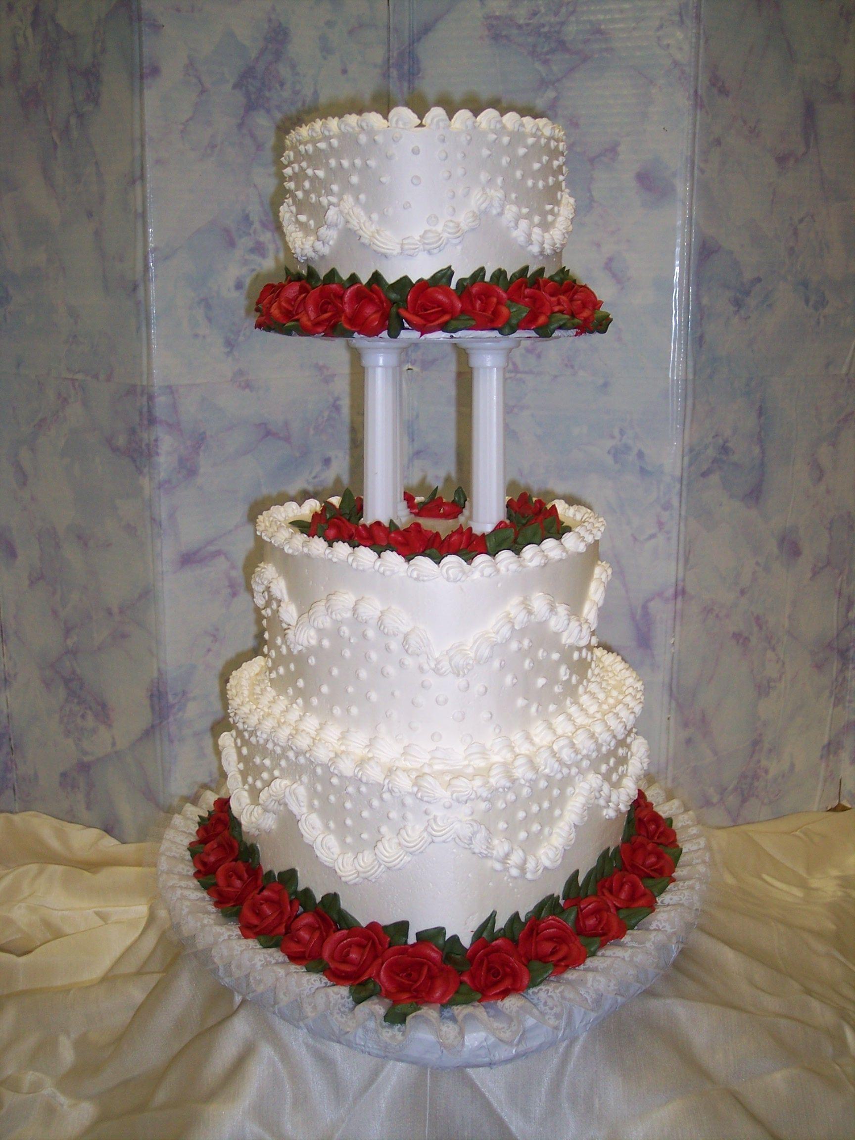 Wedding Cakes Heart Shaped Wedding Cakes