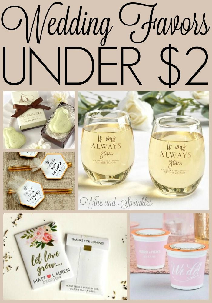 Spring Wedding Favors Under $2 — Wine & Sprinkles