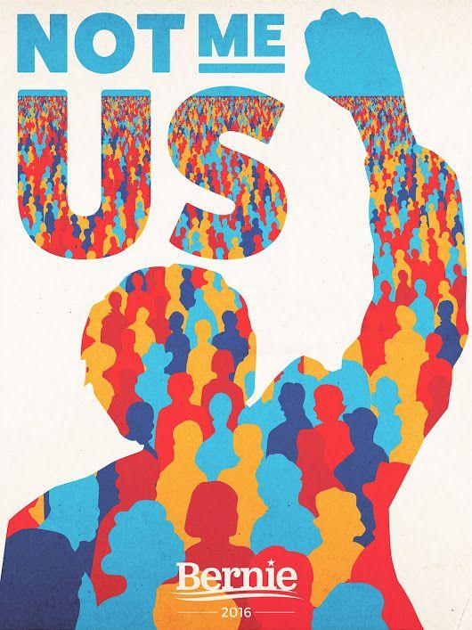 This campaign is about you. - Bernie Sanders #notmeus #politicalrevolution