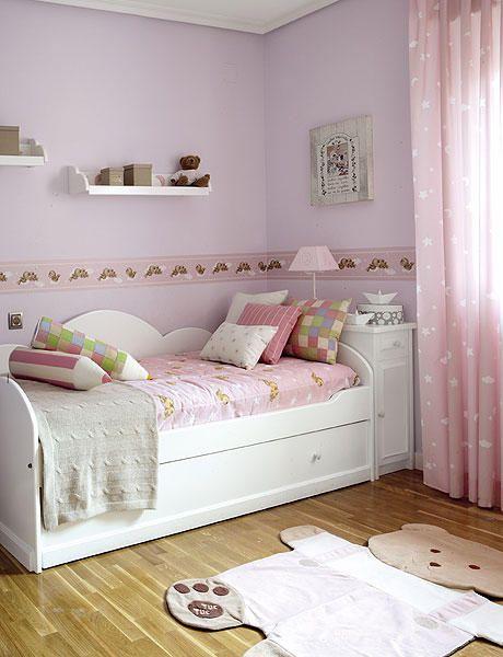Con cama nido for Ideas decoracion habitacion juvenil nino