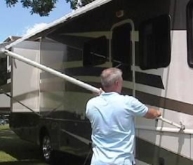 Rv 101 How To Keep Your Rv Awnings In Tip Top Shape Rv 101 With Mark Polk Rv Tips Rv Hacks