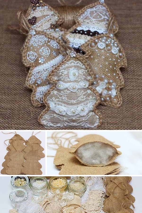 Made With Love. Cottage Style Ornaments