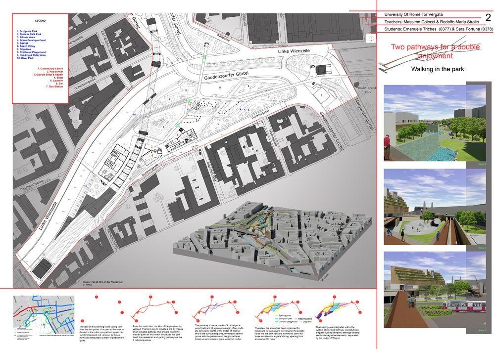 Tavole progettazione architettonica cerca con google - Tavole di concorso architettura ...