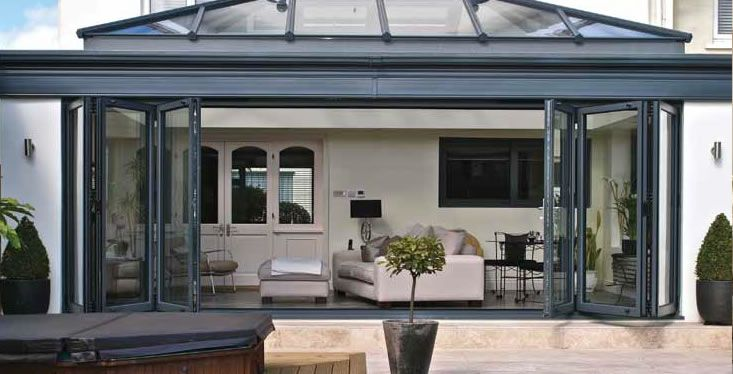 folding patio doors - Google Search | Urban Exteriors | Pinterest ...