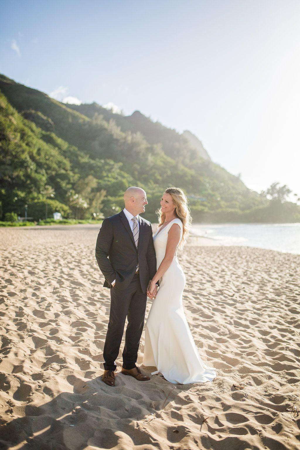 Hawaii Kauai Beach Wedding Photos Blog The Overwhelmed Bride