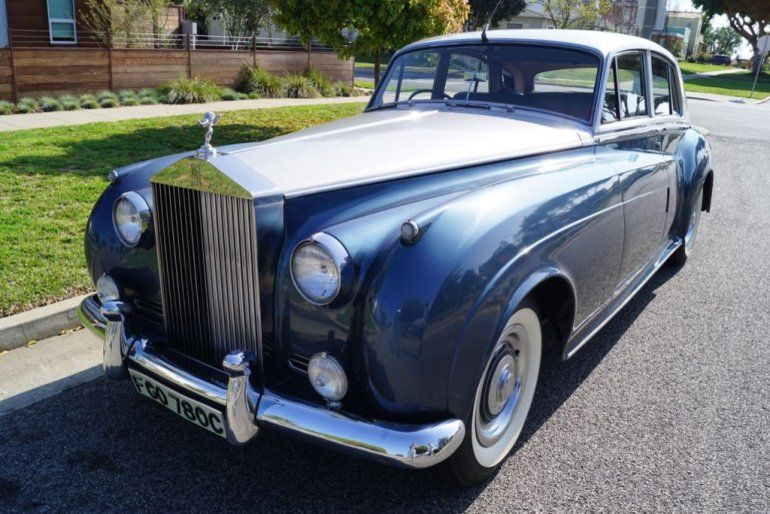1960 Rolls Royce Silver Cloud Ii Silver Cloud Ii With Believed To