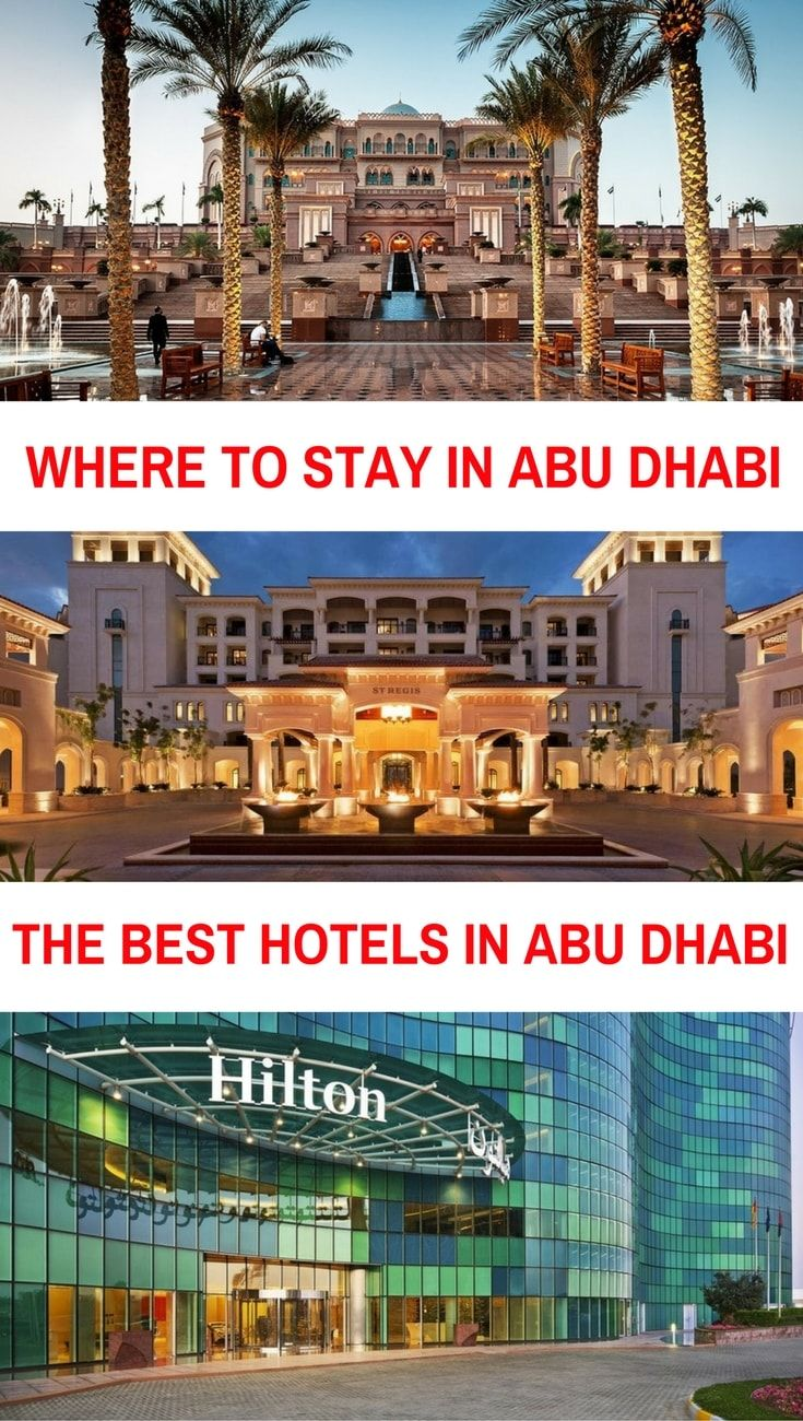 Where to Stay In Abu Dhabi the