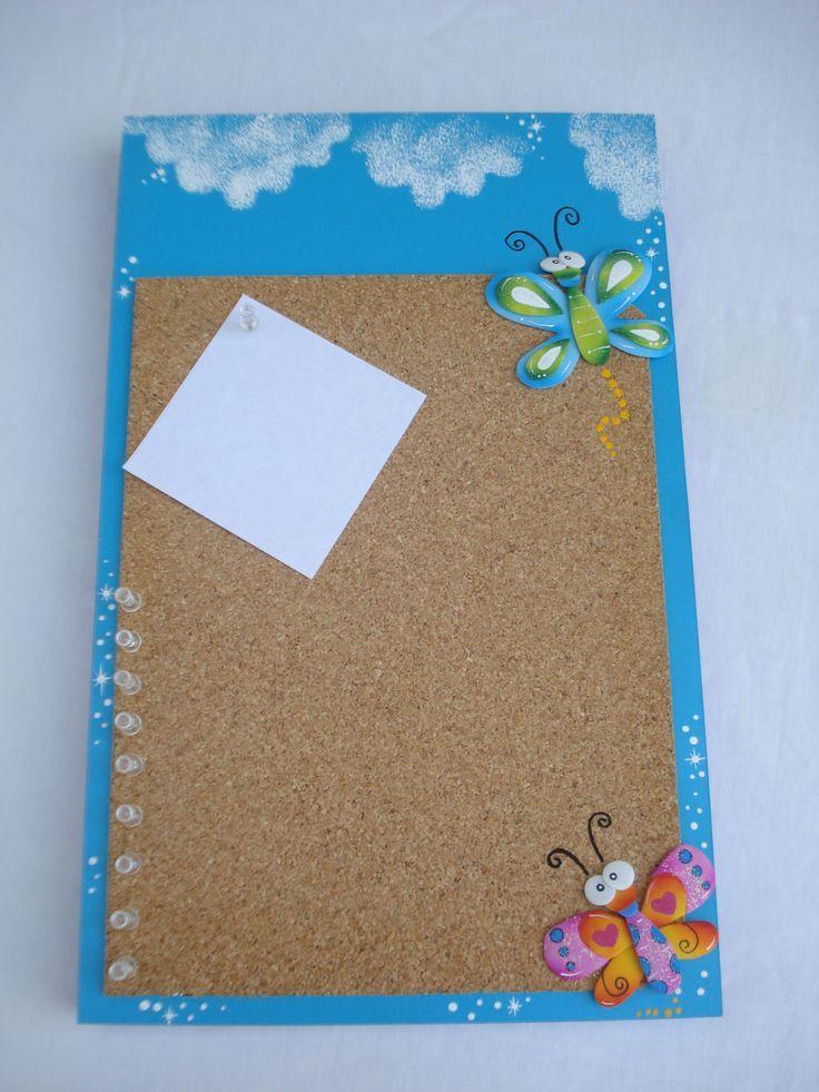 Como decorar corchos o formicas para notas buscar con - Pizarras para decorar ...
