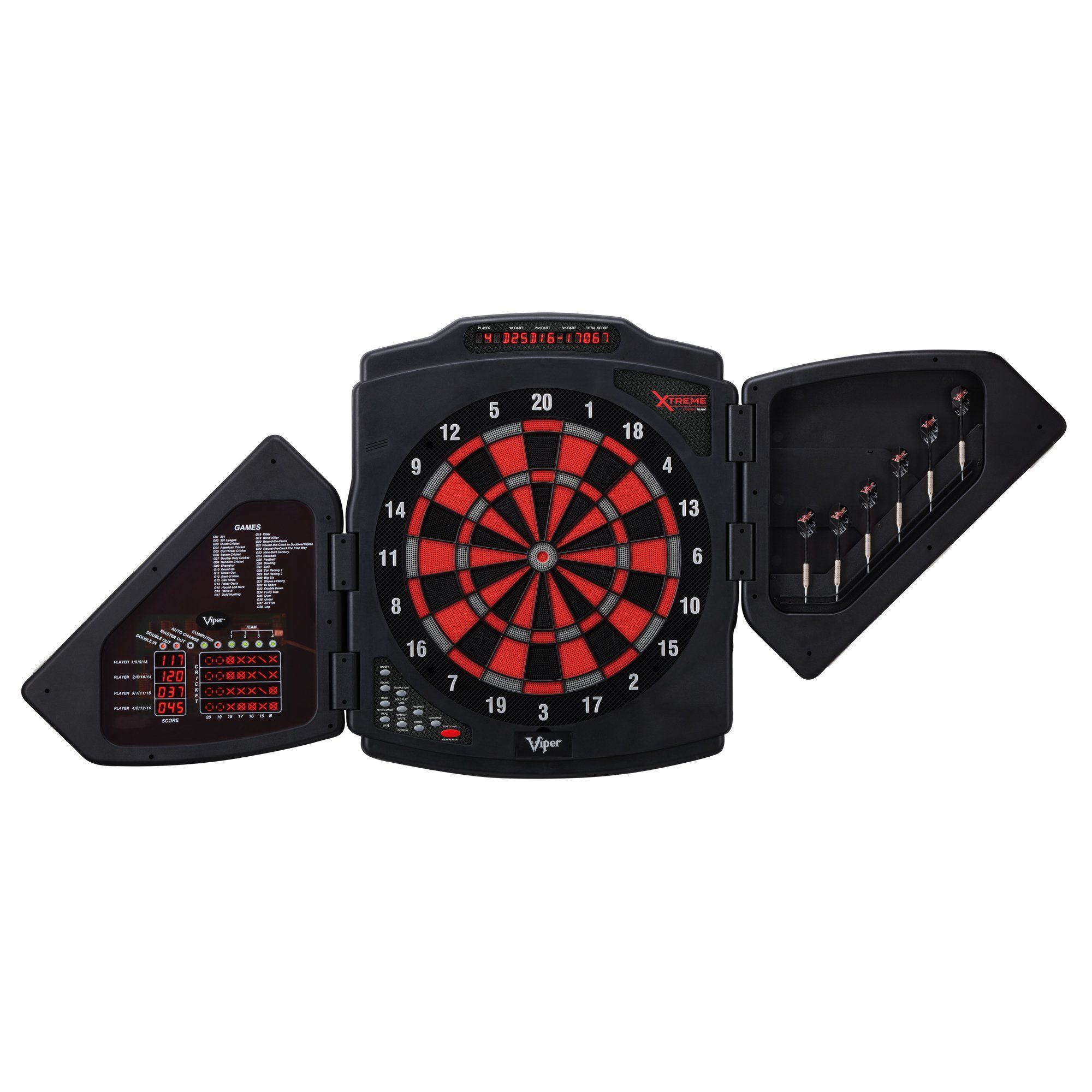 Viper XTreme Electronic 48Game Dartboard Electronic