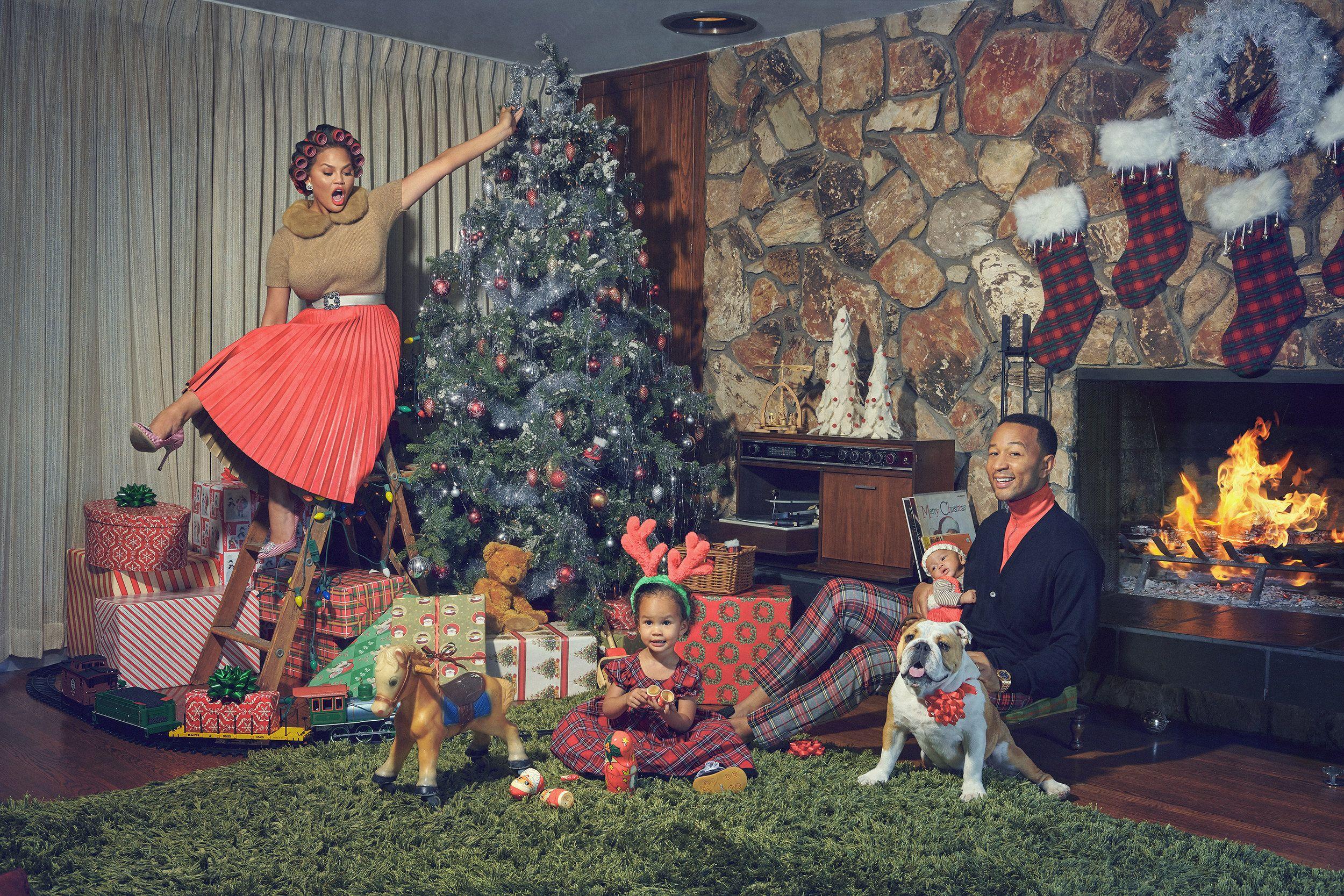 Pin By Linda Hopkins On Chrissy Teigen Style Merry Christmas Baby Christmas Albums John Legend