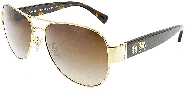 b850b2346a2b Coach Womens L138 Sunglasses (HC7059) Metal   JACKCHIM_Sunglasses ...