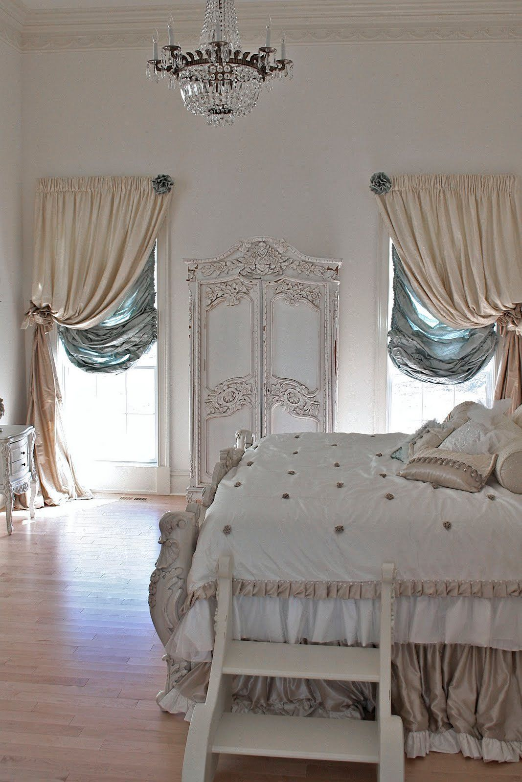 Romantic Bedroom Curtains: Romantic Home Decor, Home Bedroom