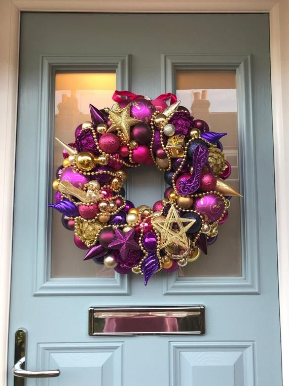Bauble wreath  - Dancing Queen #baublewreath
