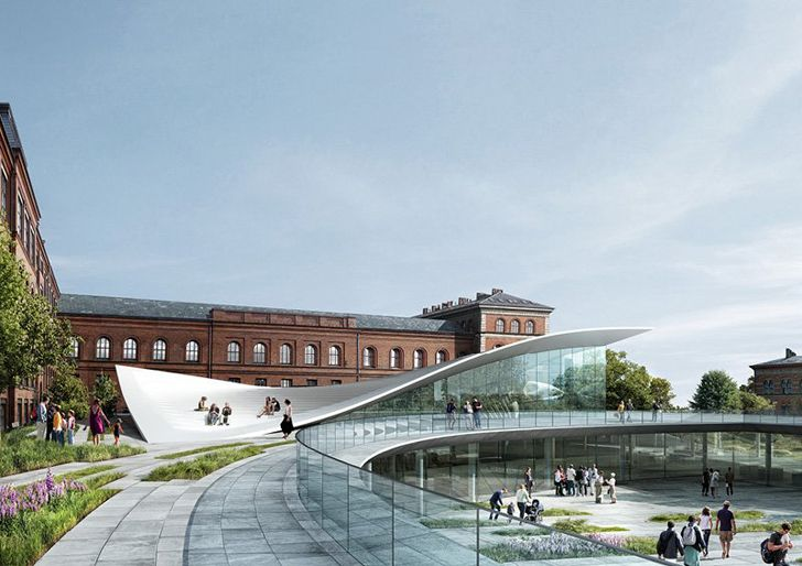 Roof Gardens History Design And Construction Pdf Denmark's Natural History Museum In Copenhagen Has A