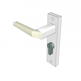 Upvc Door Handle Sketchup Block Upvc Door Handles Door Handles Upvc