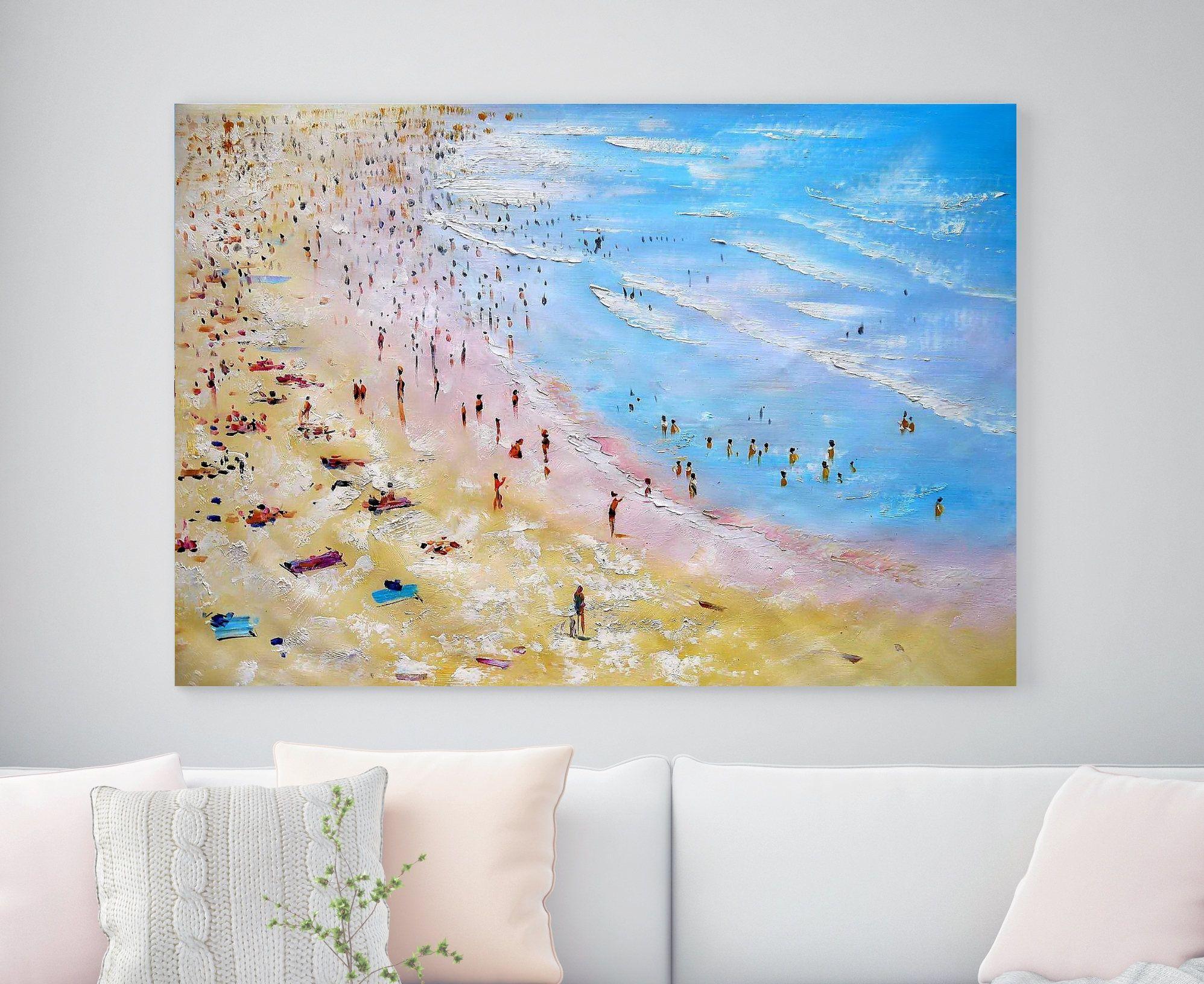 Large Original Oil Painting Canvas Wall Art Salon Painting Huge