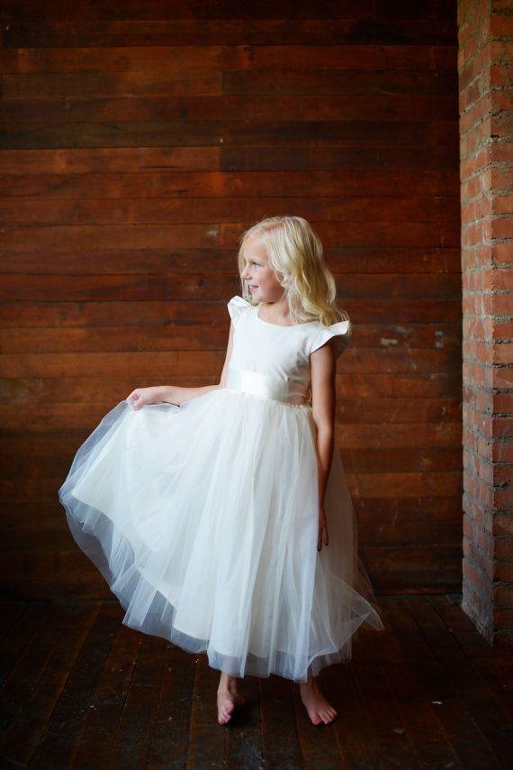 14fc12adbdd Flower Girl Dress   Pure silk and cotton flower girl by gillygray
