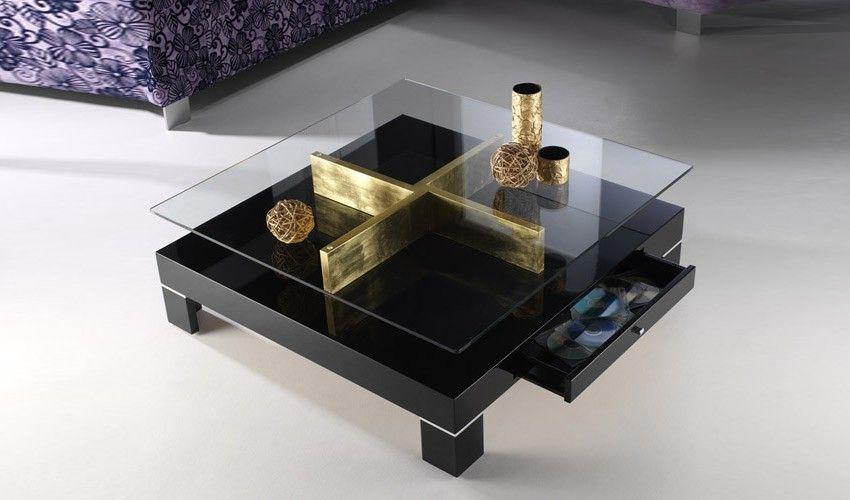 Mesa De Centro De Diseño Tapa Cristal Comedores De Cristal Centros De Mesa Mesas De Comedor