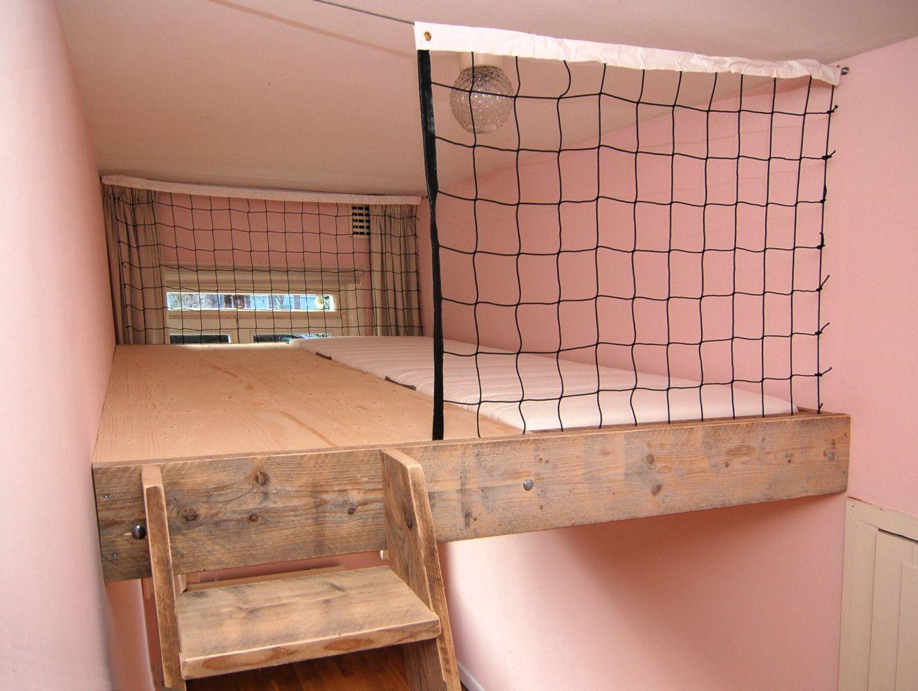 Mura mura videbedden for the home pinterest slaapkamer hoogslaper en zolder - Tiener meisje mezzanine slaapkamer ...