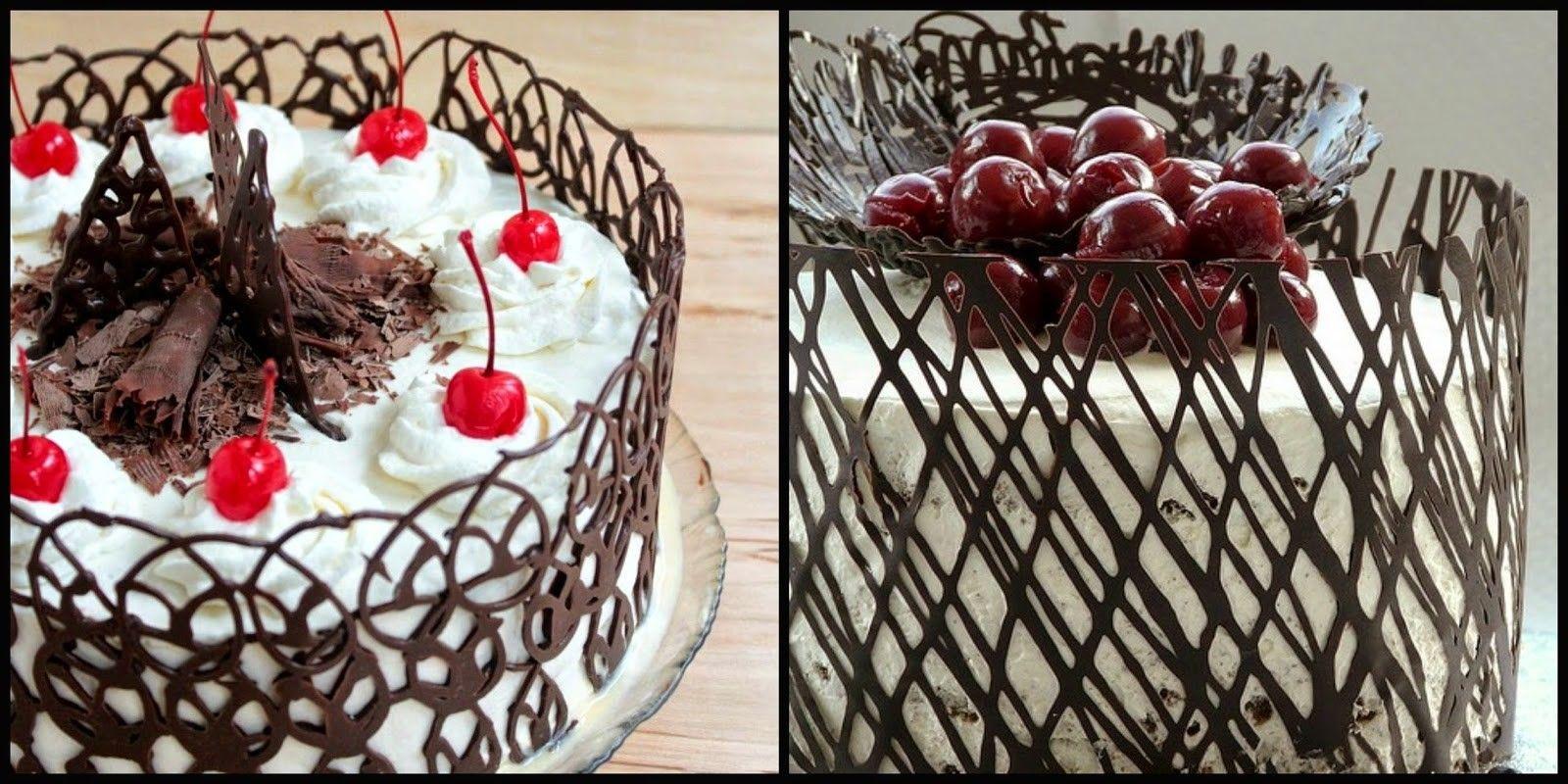 Cioccolato decorazioni per torte for Decorazioni di cioccolato per torte