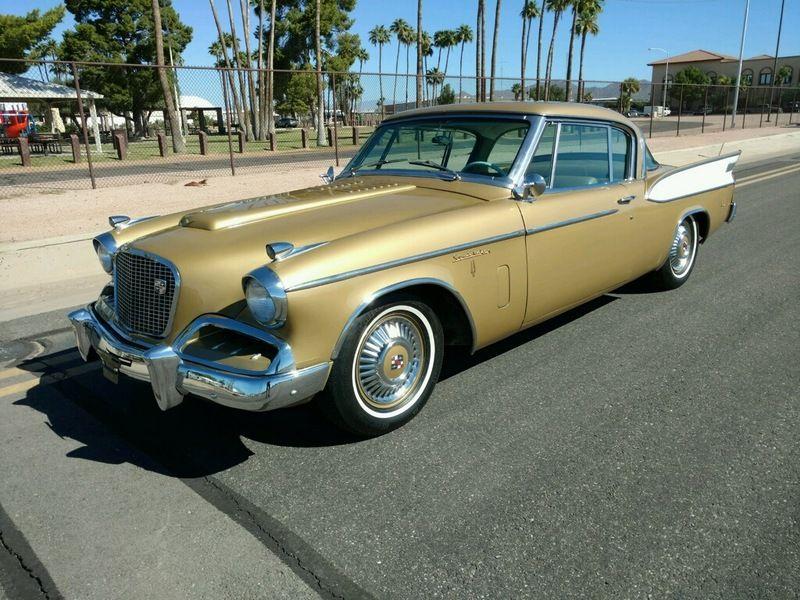 1957 Studebaker Golden Hawk Studebaker, Classic cars