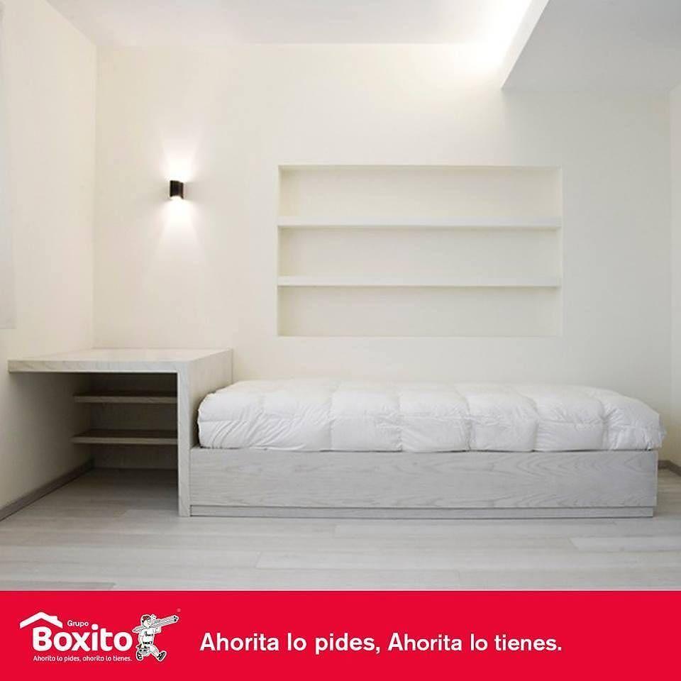 El Color Blanco Es Una Excelente Opci N Para Pintar Y Amueblar Tu  # Boxito Muebles De Bano