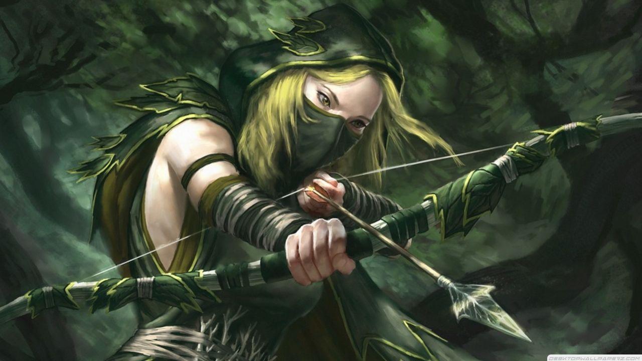 Green Arrow Fantasy Art