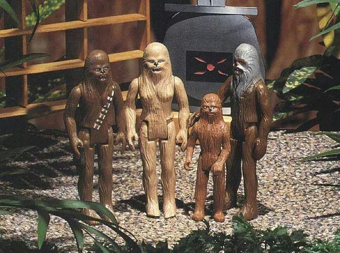 Chewbacca & family