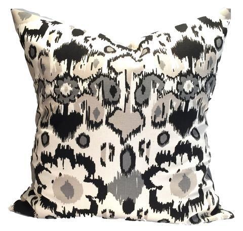 Black And Tan Small Ikat Throw Pillows Construction And Pillows Stunning Black And Tan Decorative Pillows
