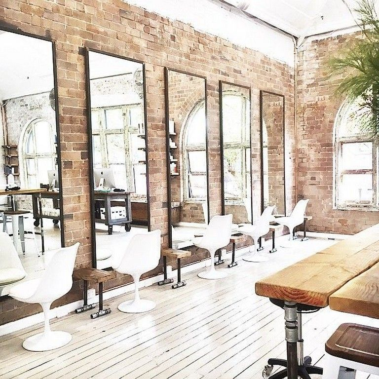 40 Best Salon Decor Hairdressing For Inspiration To Maximize Existing Place Salon Furniture Salon Interior Design Hair Salon Decor