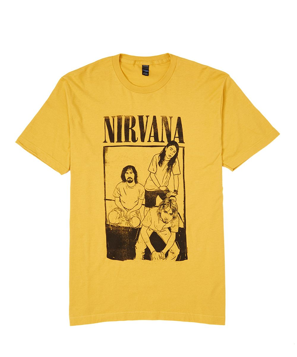 yellow nirvana shirt