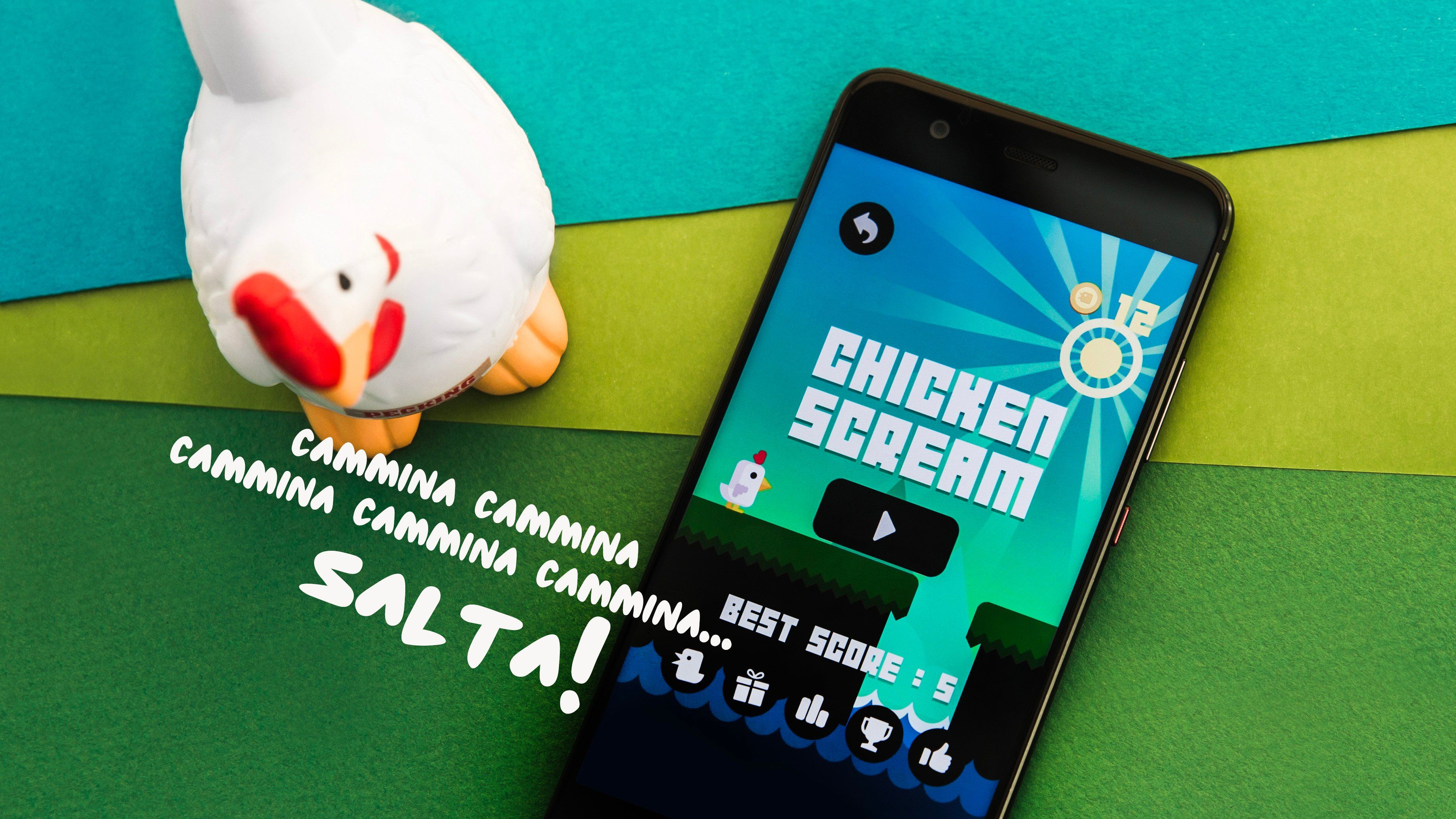 Chicken Scream : un jeu qui va faire du bruit https://t.co/1oc1kkz2gy https://t.co/akGTzz8jBZ