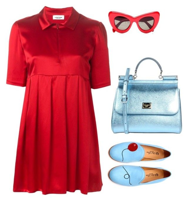 """""""Senza titolo #4586"""" by marcellamic ❤ liked on Polyvore featuring Au Jour Le Jour, Del Toro and Dolce&Gabbana"""
