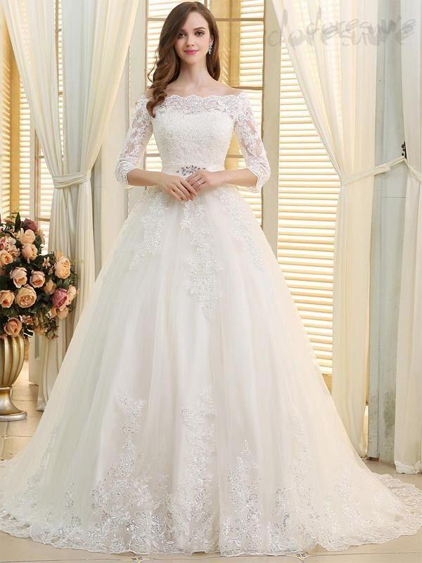Photo of Modisches Hochzeitskleid-Doresuwe.Com