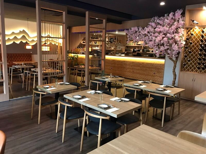 Lobo Contract Helped With The Interior To This Cosy Modern Sushi Restaurant Izakaya