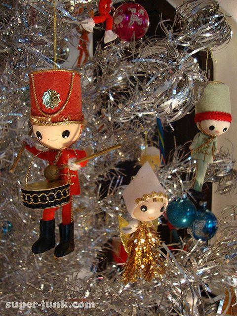 little drummer boy Drummer boy, Ornament and Vintage christmas