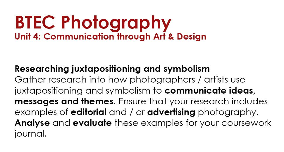 Gather A Minimum Of 4 Examples Of Juxtapositioning And 4 Examples Of