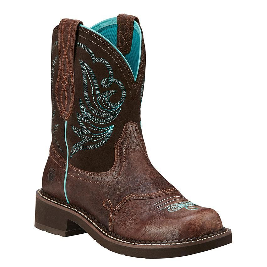 Ariat Women S Fat Baby Heritage Dapper Royal Chocolate