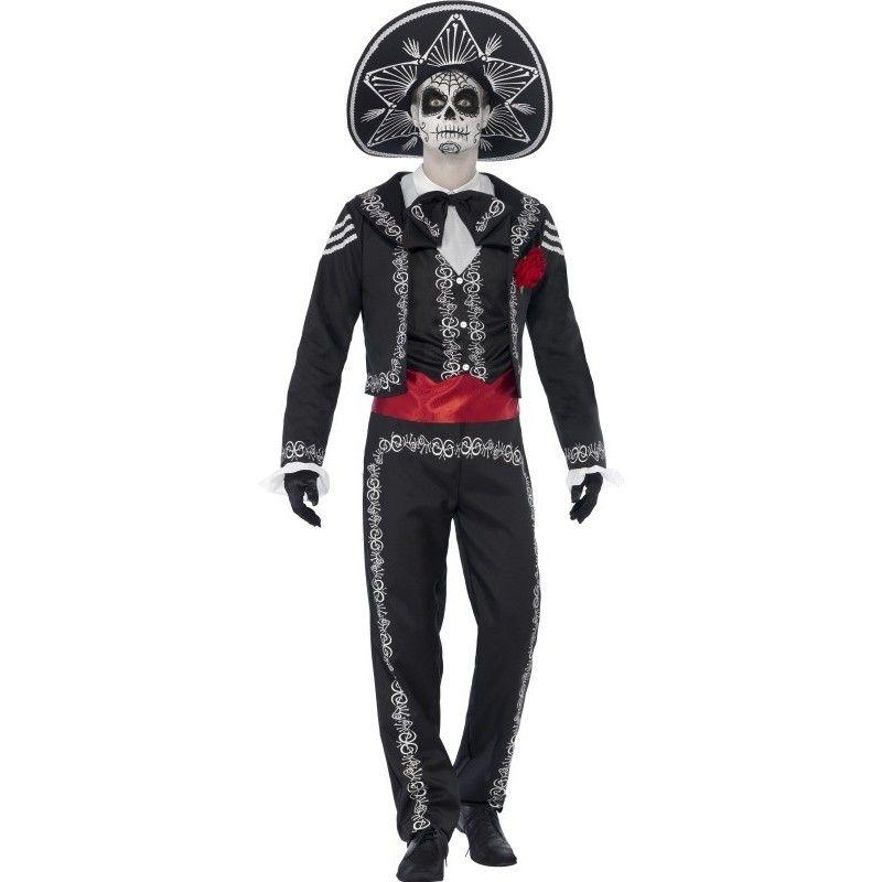 Disfraz De La Muerte Mexicana Mariachicomprar Online En