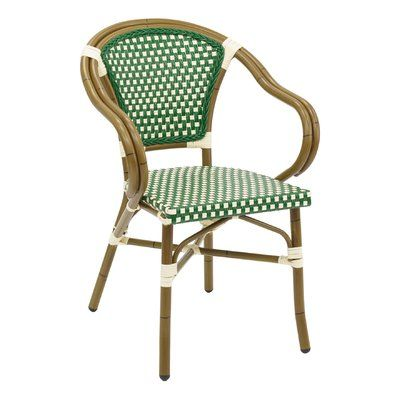 Miraculous Florida Seating Stacking Patio Dining Chair Color Green In Inzonedesignstudio Interior Chair Design Inzonedesignstudiocom