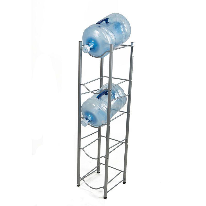 Mind Reader 5 Tier Water Cooler Jug Rack Silver Water Coolers Water Jug Mind Reader