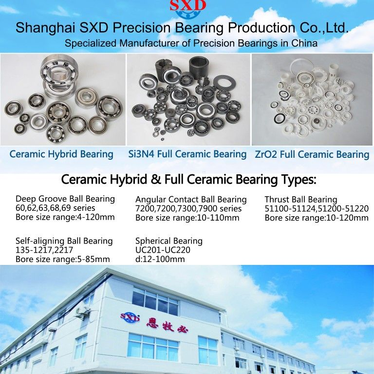 Full Ceramic Bearings Ceramic Hybrid Bearings From Sxd Your Trustable Bearing Manufacturer In China Welcom Shanghai Sxd Miniature Precision Bearing In 2019