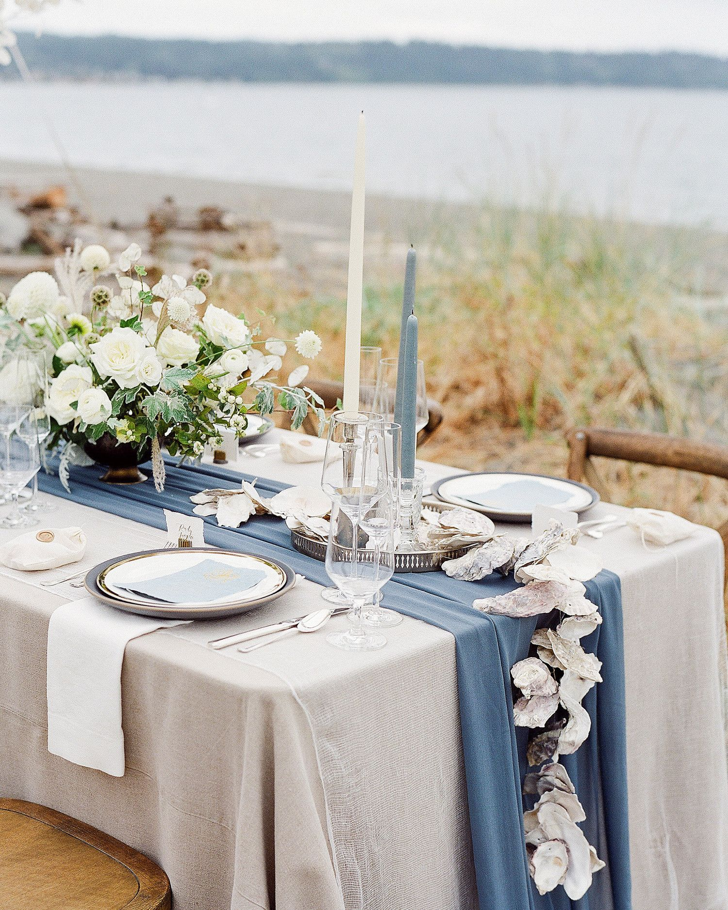 A Waterfront Wedding On An Island Just North Of Seattle