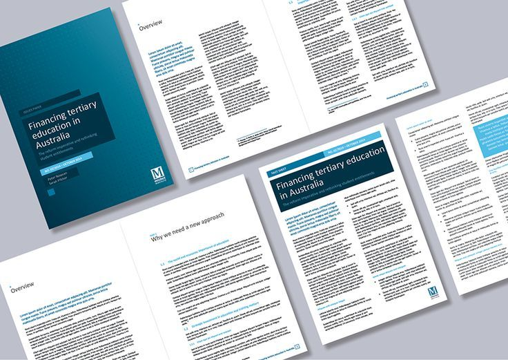 This client wanted two formats for their papers templates a one - microsoft word template report